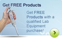 Get FREE Products with a Qualified Lab Equipment Purchase!