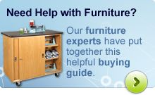 Not Sure what Furniture to Put in Your Lab? View the helpful buying guide that our furniture experts have put together.