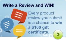 Write a Review and WIN!