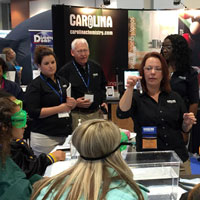 Carolina Exhibits and In-Booth Demos