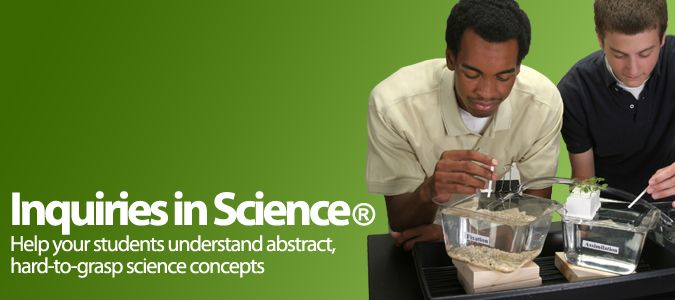 Inquiries in Science: Help your students understand abstract, hard-to-grasp science concepts