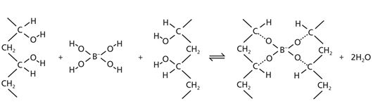 pva and sodium borate crosslinks essay In general, borax, also known as sodium borate, is a good buffer, dissociate into boric and monoborate ion with sodium (na + ) as a counter-ion [53]  the interaction between pva and borax is.